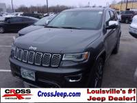 PRE-OWNED 2017 JEEP GRAND CHEROKEE OVERLAND 4WD