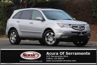 Used 2009 Acura MDX 3.7L Technology Pkg w/Entertainment Pkg For Sale in Colma CA | Stock: T9H529033 | San Francisco Bay Area
