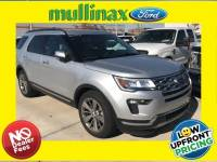 Used 2018 Ford Explorer Limited W/ Heated/Cooled Seats, Navigation SUV V-6 cyl in Kissimmee, FL