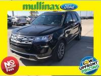 Used 2018 Ford Explorer Limited W/ Twin Panel Moonroof, Sync Connect SUV V-6 cyl in Kissimmee, FL