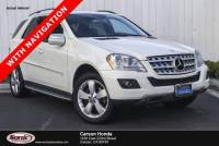 Pre-Owned 2009 Mercedes-Benz M-Class ML350 SUV
