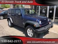 2013 Jeep Wrangler Unlimited Sport for sale in El Dorado CA