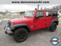 Used 2012 Jeep Wrangler Unlimited For Sale at Duncan Suzuki | VIN: 1C4BJWDG6CL117407