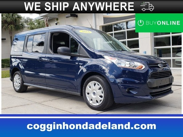 Photo Pre-Owned 2016 Ford Transit Connect XLT wRear Liftgate Wagon Wagon LWB in DeLand FL