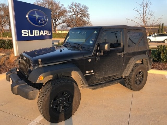Photo Used 2015 Jeep Wrangler Sport For Sale Grapevine, TX
