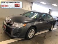 Certified Pre-Owned 2013 Toyota Camry LE Sedan in Oakland, CA