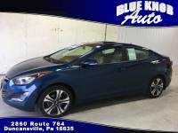 2015 Hyundai Elantra Sport w/PZEV Sedan in Duncansville | Serving Altoona, Ebensburg, Huntingdon, and Hollidaysburg PA