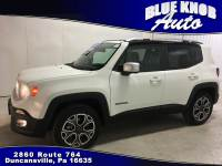 2018 Jeep Renegade Limited 4x4 SUV in Duncansville | Serving Altoona, Ebensburg, Huntingdon, and Hollidaysburg PA