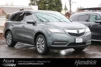 Used 2016 Acura MDX w/Tech/Entertainment in Pleasanton, CA