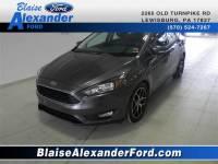 2017 Ford Focus SEL Sedan I-4 cyl
