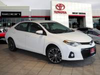 Certified Pre-Owned 2015 Toyota Corolla S Plus FWD 4dr Car