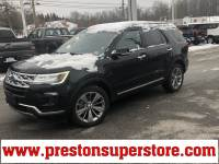 Certified Used 2018 Ford Explorer Limited SUV in Burton, OH