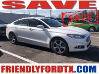 Used 2015 Ford Fusion SE Sedan iVCT for Sale in Crosby near Houston