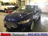 2013 Ford Fusion SE Luxury Package! Sedan 4 cyls