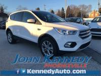 Used 2017 Ford Escape SE SUV EcoBoost I4 GTDi DOHC Turbocharged VCT For Sale Phoenixville, PA