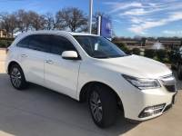 Used 2014 Acura MDX Tech Pkg For Sale Grapevine, TX