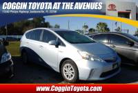 Pre-Owned 2012 Toyota Prius v Two Wagon Front-wheel Drive in Jacksonville FL