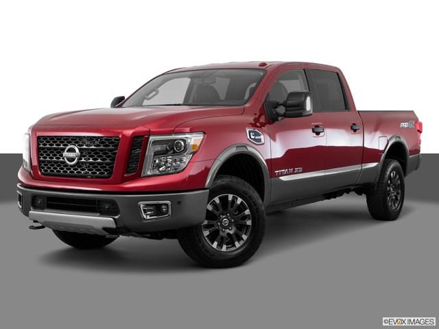 Photo Used 2016 Nissan Titan XD PRO-4X Truck Crew Cab for sale in Concord CA