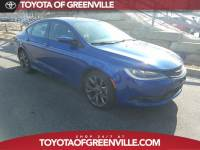 Pre-Owned 2015 Chrysler 200 S Sedan in Greenville SC