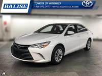 Used 2017 Toyota Camry LE for sale in Warwick, RI