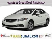 Used 2015 Honda Civic Sedan LX Available in Sacramento CA