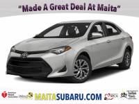 Used 2017 Toyota Corolla LE Available in Sacramento CA