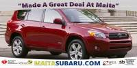 Used 2007 Toyota RAV4 Sport Available in Sacramento CA