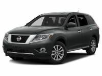 2016 Nissan Pathfinder 4WD SV w/Backup-Cam