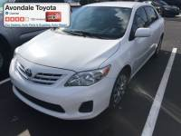 Certified Pre-Owned 2013 Toyota Corolla Sedan Front-wheel Drive in Avondale, AZ
