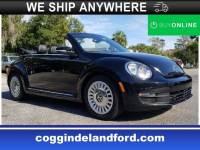 Pre-Owned 2016 Volkswagen Beetle Convertible 1.8T Convertible in Jacksonville FL