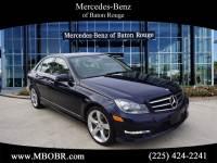 Certified Pre-Owned 2014 Mercedes-Benz C 350 SEDAN