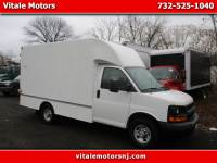 2014 Chevrolet Express 12 FOOT CUBE VAN, BOX TRUCK SRW