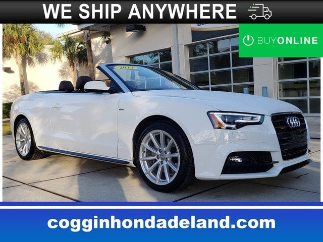 Photo Pre-Owned 2017 Audi A5 2.0T Sport Sport Cabriolet in Jacksonville FL