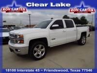 2015 Chevrolet Silverado 1500 LT 4x4 Truck Crew Cab near Houston