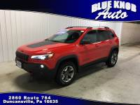 2019 Jeep Cherokee Trailhawk 4x4 SUV in Duncansville   Serving Altoona, Ebensburg, Huntingdon, and Hollidaysburg PA