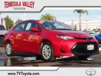 2017 Toyota Corolla LE Sedan Front-wheel Drive