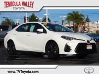 2017 Toyota Corolla SE Sedan Front-wheel Drive