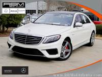 Certified Pre-Owned 2016 Mercedes-Benz S 63 AMG® 4MATIC® AWD 4MATIC® SEDAN