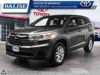Used 2014 Toyota Highlander LE for sale in Warwick, RI