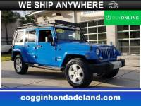 Pre-Owned 2011 Jeep Wrangler Unlimited Sahara SUV in DeLand FL