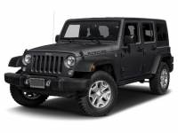 Certified Pre-Owned 2017 Jeep Wrangler JK Unlimited Rubicon 4x4 SUV For Sale Toledo, OH