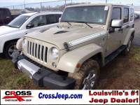 PRE-OWNED 2017 JEEP WRANGLER UNLIMITED SAHARA 4WD
