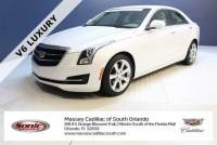 Certified Pre-Owned 2015 Cadillac ATS Sedan 3.6L V6 RWD Luxury