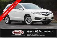 Pre-Owned 2017 Acura RDX FWD w/Technology Pkg