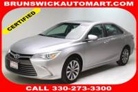Certified Used 2017 Toyota Camry XLE in Brunswick, OH, near Cleveland