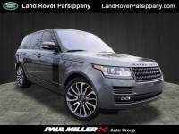 2016 Land Rover Range Rover Supercharged 4WD Supercharged in Parsippany