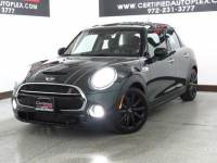 2015 MINI Cooper Hardtop 4 Door S SUNROOF LEATHER SEATS BLUETOOTH KEYLESS ENTRY PUSH BUTTON START FOG LIGHT