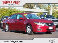 2017 Nissan Altima 2.5 S Sedan Front-wheel Drive in Temecula