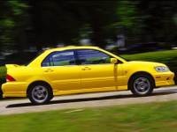 2002 Mitsubishi Lancer OZ Rally Sedan