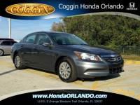 Pre-Owned 2012 Honda Accord 2.4 LX Sedan in Jacksonville FL